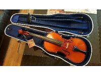 Karl Hofner violin 4/4 802 1996 german Great condition FREE uk delivery full size