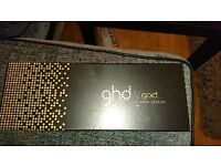 God v gold wide plate Straighteners boxed