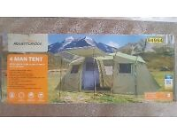 4 man tent. Brand new. Cost £79 new