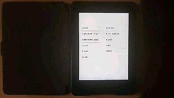 """Kindle Paperwhite 3rd Gen, 6"""" High-Resolution Display (300 ppi)3G + Wi-Fi (Black)"""