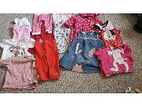 Baby girl clothes się 9-12
