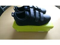 MENS BLACK ADIDAS NEO TRAINERS SIZE 8 BRAND NEW IN BOX NEVER WORN £15