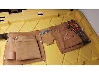 Leather joiner belt