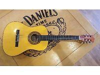 3/4 acoustic guitar