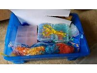 Box of kids assorted arts and crafts