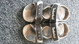 Timberland boys sandals size 9.5