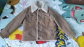 Boys Levis Sherpa Jacket 7 8 9 10