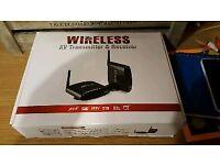 AV Wireless transmitter / sender (mirror)
