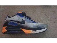 Nike Air Max Lunar 90 C3.0 men's trainers in grey/orange/blue size 8