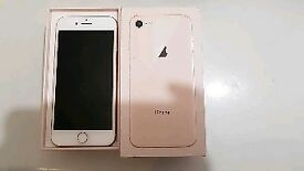 Iphone 8 64gb gold mobile phone