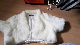 Bridal jacket size 12-16