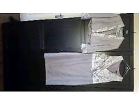 Mother of bride dress n jacket suit