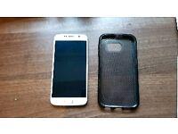 Samsung Galaxy S6 32GB White + Case
