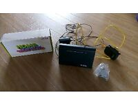 Huawei TalkTalk Fibre Super Broadband Router HG633 with Cables/Leads. Swansea