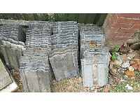 Approx 50 Marley Ludlow roof tiles