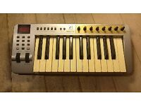 Evolution MK-225C MIDI Controller keyboard.
