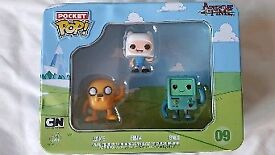 Funko pop vinyl pocket pop adventure time Jake Finn BMO