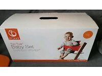 Stokke Tripp Trapp Highchair Baby Set - Lava Orange Used