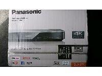 Panasonic dmp-bdt270eb 3d bluray player with 4k upscaling