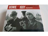 David bowie vs iggy 3 music discs &interview selection. Sealed.