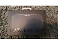 BNIB Samsung Level Box Slim in Black. Portable Wireless Speaker