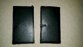 Luxury Travel Wallets x 2