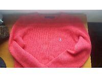 Pink Ralph Lauren jumper