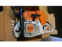 Stihl chainsaw 661 CM with or without guidebars