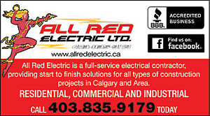ALL RED ELECTRIC LTD. 1 YEAR WARRANTY, Master Electrician's