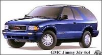 2002-2005 Chevrolet Blazer or GM jimmy