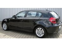 Bmw1 series black 2006 automatic