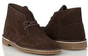82289-Mens-Clarks-Bushacre-Desert-Boot-II-Brown-Suede-Rubber-Bottom-Casual