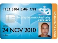 Freelance SIA Security Industry Trainer/Tutor