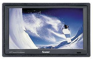 Ecran LCD Farenheit 6.5 pouces 12 volts. Ideal en auto pour brancher sur DVD ou Ipod Ipad téléphone Tablette . Complet a