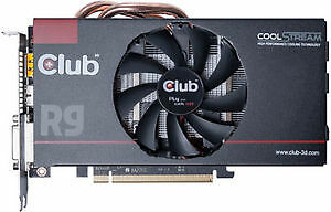 Excellent condition Club3d R9 270x 2GB graphics card