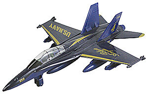f18 navy blue angels toy airplane 9 diecast metal model jet fighter