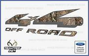 Ford Camo 4x4 Decals