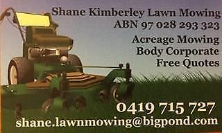 Shane Kimberley Lawn Mowing and Garden Services, Gold Coast