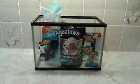 Fish Tank (Aquatown) With Accessories