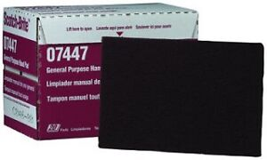 3M Hand Pads SCOTCH BRITE GENERAL PURPOSE Pad - RED 07447