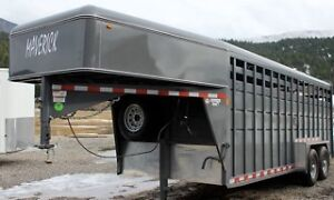 Special Offer Maverick Stock Trailer Take Over the Lease Payment Williams Lake Cariboo Area image 6