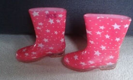 star wellie boots