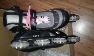 Ladies adjustable rollerblades