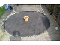 Trampoline 12ft membrane AND springs