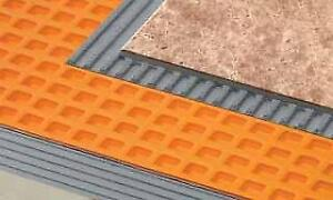 Schluter Ditra XL Underlayment - full roll - 175 square feet