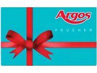 £276 Argos Gift Voucher