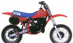 Looking for 1983 1984 1985 Honda Cr60 Parts bike
