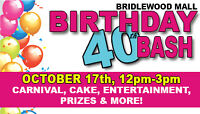 Bridlewood Mall 40th Birthday Celebration