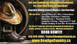Country Entertainment for Your Office Party or Private Event?