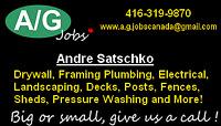 Renovations, General Contracting & Handyman